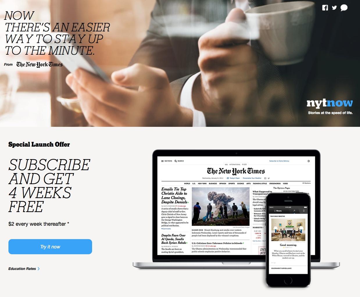 Case Study: NY Times paywall